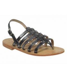Sandale Les Tropéziennes Hercris noir bronze / M Belarbi