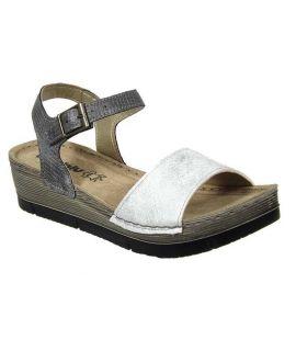 Sandale confort Inblu Bibi gris