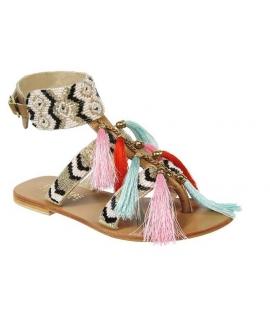 Ephémère for Ever / Playa sandale Muguet camel