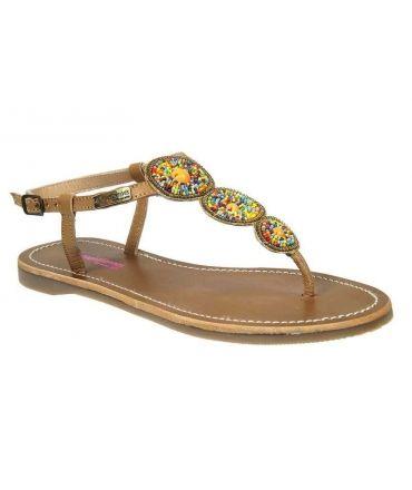 Sandale Les Tropéziennes par M Belarbi Orion beige