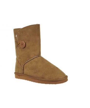 Boots fourrés Lpb Shoes Naomi camel | Les P'tites Bombes