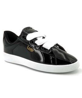 Les P'tites Bombes baskets basses Anemone Vernis noir - LPB Shoes