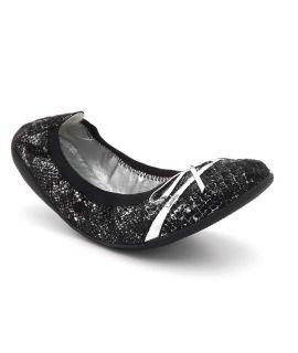 Ballerines Les P'tites Bombes 5-Caprice serpent noir | Lpb shoes