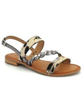 Sandale Les Tropéziennes par M Belarbi Balet étain