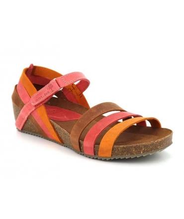 Sandale anatomique Inter Bios 5348 orange multi