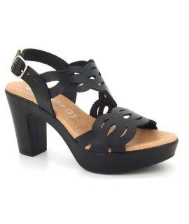 Sandale mode et confort Eva frutos 5871 noir