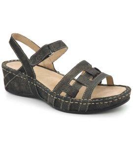 Sandale femme TBS Vladia Noire, nouveauté nu pieds confort