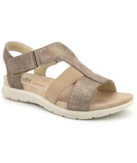 Sandale Tbs Martina platine, semelle confort