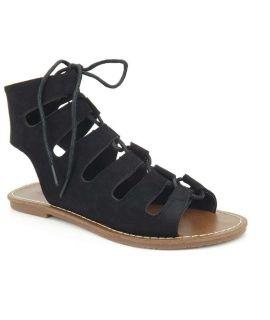 Nu Pied Les P'tites Bombes Prunelle noir | Spartiates Lpb Shoes