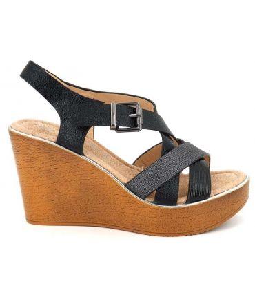 NaomyNouveauté Talon Chaussures Sandale Femmes À Playa Compensée sdxhQrtC