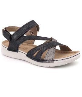 Sandales Inblu EK13GC33 confortables pour femmes double velcro