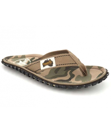Tongs Gumbies Islander Camouflage pour hommes