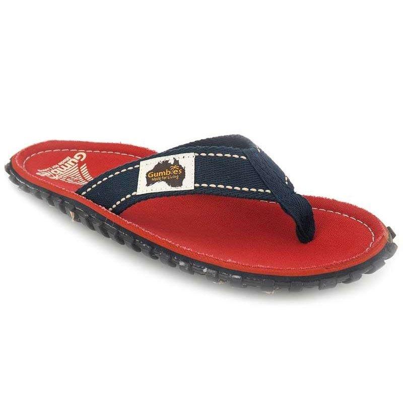 vente en magasin riche et magnifique une performance supérieure Vendons tongs Gumbies Islander Coast rouge | Nus pieds ...