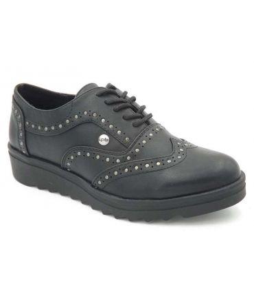 Lpb Shoes derby Gabriella noir | Chaussures femmes Les P'tites Bombes