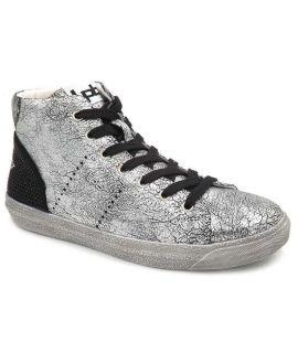 Baskets montantes Lpb Shoes Anastasia vieux argent, nouveauté Les p'tites bombes