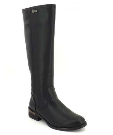 Bottes style cavalière Les P'tites Bombes Ludivine noir | Nouveauté Lpb Shoes