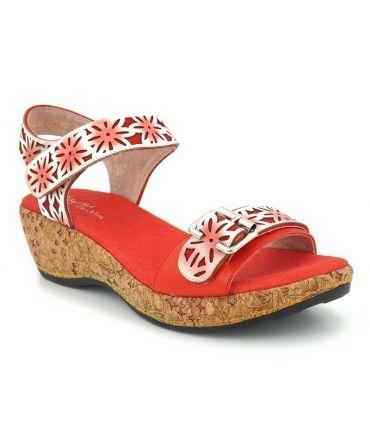 Sandale compensée Laura Vita Facrdoto 019, série limitée