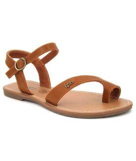 Sandale Lpb Shoes Tania camel, nu pied Les P'tites Bombes