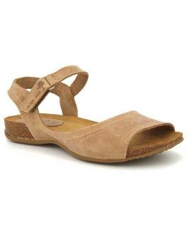 Sandale cuir Interbios 4458 beige