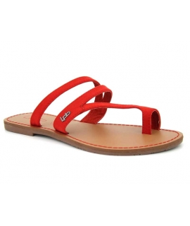Tong passe orteil Lpb Shoes Texane rouge