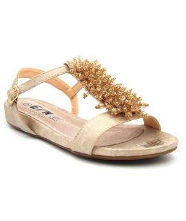 Sandale femmes Elue par Nous Epluche platine