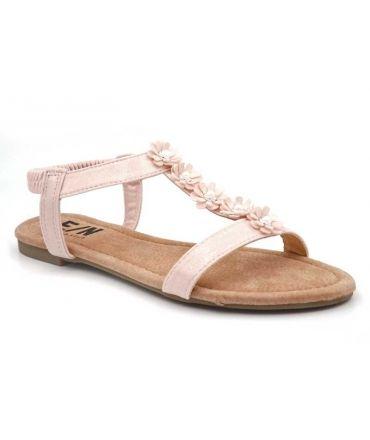 Nus-pieds Elue par Nous Ebene rose