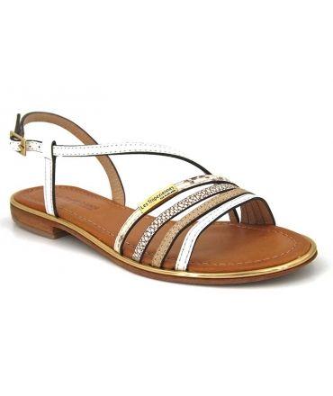 sandale femme Les Tropéziennes par M Belarbi Holidays en cuir