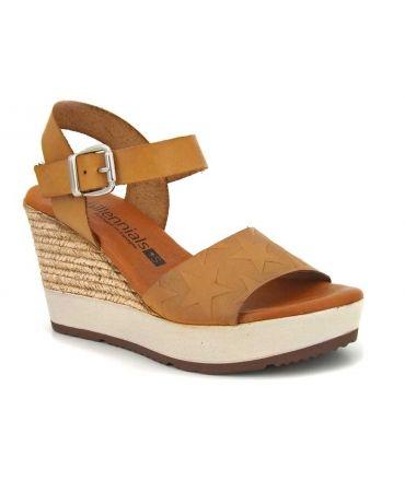 Naturel Millennials 3213 MoutardeCompensé Cuir Shoes Sandales eIbD2YWEH9