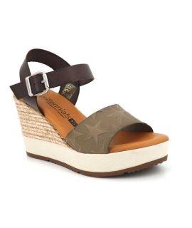 Sandale compensée Millennials 3213 Milkaki pour femmes