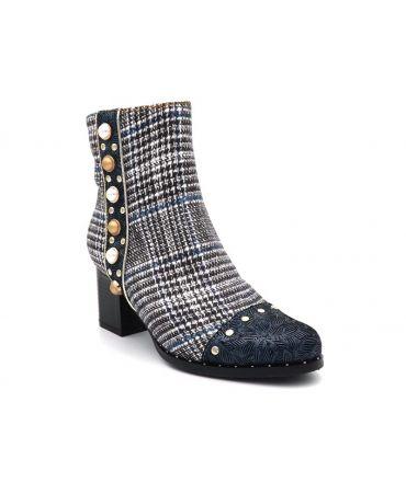 Bottine Laura Vita Emcilieo 03, boots mode bijoux et perles pour femmes