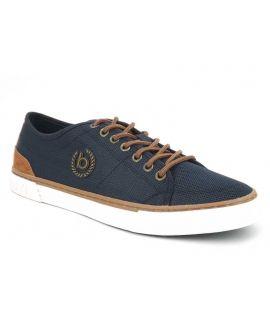Chaussure Bugatii baskets basses Drome bleu