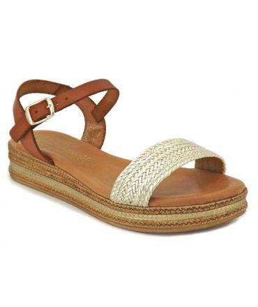 Carla Tortosa 14110 Avalena multi, sandale à plateforme semelle gel
