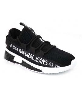 Baskets sneakers Kaporal Dofino noir pour hommes
