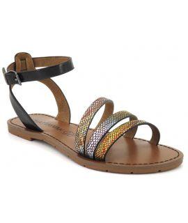 Chattawak Pago multi, sandale bride autour de la cheville pour femmes