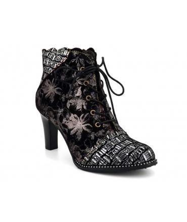 Laura Vita Alcbaneo 2271 noir, nouveauté bottines confortables pour femmes