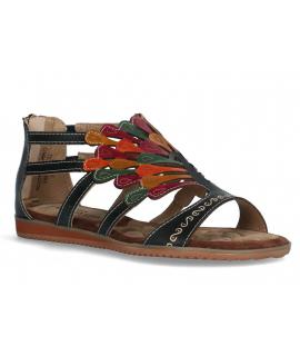 Laura Vita Vaca Jeans, chaussures été spécial pieds sensibles