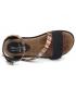 Chaussures Métamorfose Janis noir, nus-pieds spécial pieds sensibles