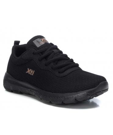 Baskets confort XTI 42562 noir pour femmes
