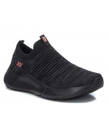 Xti 45560 noir, baskets sans lacets confortables pour femmes