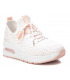 Baskets Xti 42691 rose, sneakers femmes à enfiler, semelle avec bulle d'air