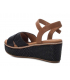 Nus-pieds Xti 42280 noire, sandale confort et mode pour femmes