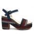 Sandale Elue par Nous Jokari bleu   Talon décroché 9 cm