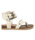 Nouveauté Chattawak Rudy sable | Sandale grosse boucle à la cheville