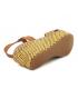 Xti 42280 jaune, sandale confort et mode pour femmes
