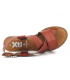 Sandale plate Xti 42289 camel, chaussures mode pour femmes