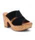 Kaola 893 marron, mule à talon décroché en cuir semelle gel | Chaussures fabriquées en Espagne