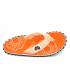 Tongs Gumbies Islander Boho Coral | Entre doigts tissu brides fluo