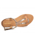 Nu pieds cuir Les Tropéziennes par M Belarbi Hamat cuivre & bronze