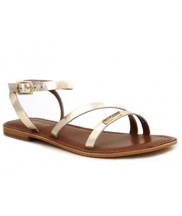 Sandale Les Tropéziennes par M Belarbi Manaka or pour femmes
