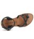 Nouveau Chattawak Perla noir, nu-pieds passe orteil + bride cheville